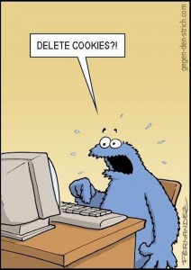 electronic recycling deleting cookies