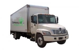 urban e recycling truck