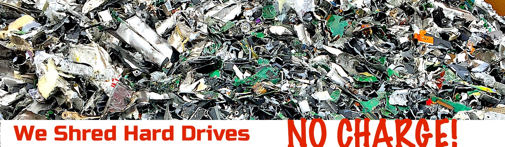 shred hard drives urban e recycling
