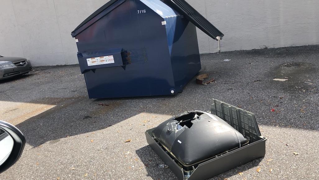 broken tv urban e recycling