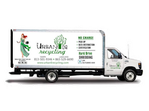 Urban E Recycling box truck