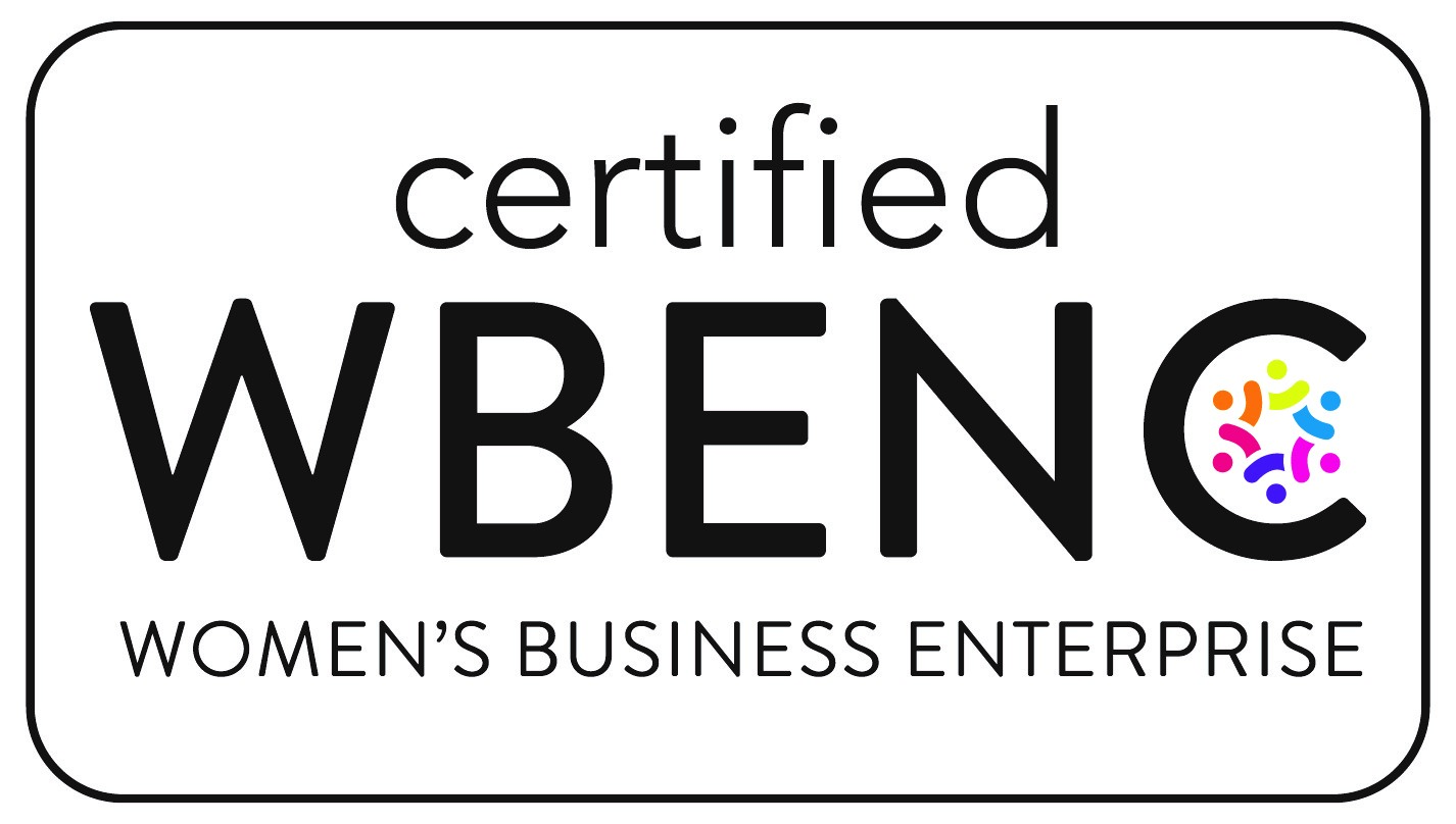 Logo for Certified WBENC